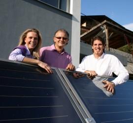 Gas und Solar